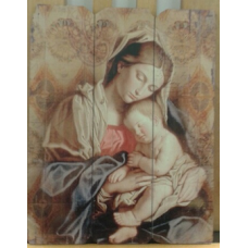 Picture, Religious Depiction of Madonna & Child #1